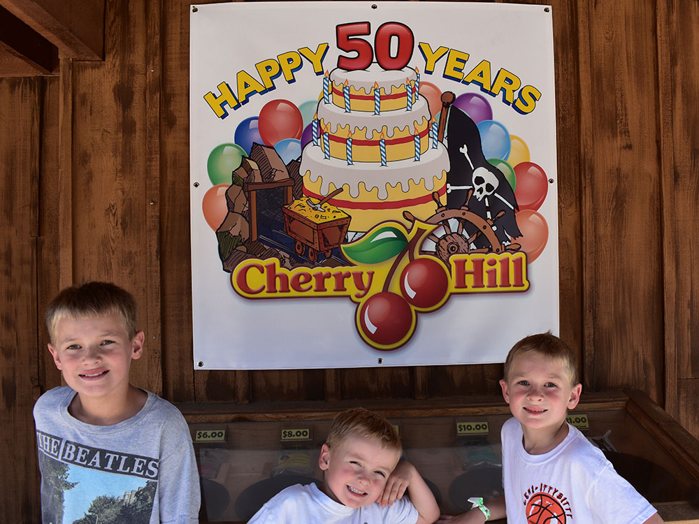 50 Years at Cherry Hill Water Park, Family Fun Center & Camping Resort