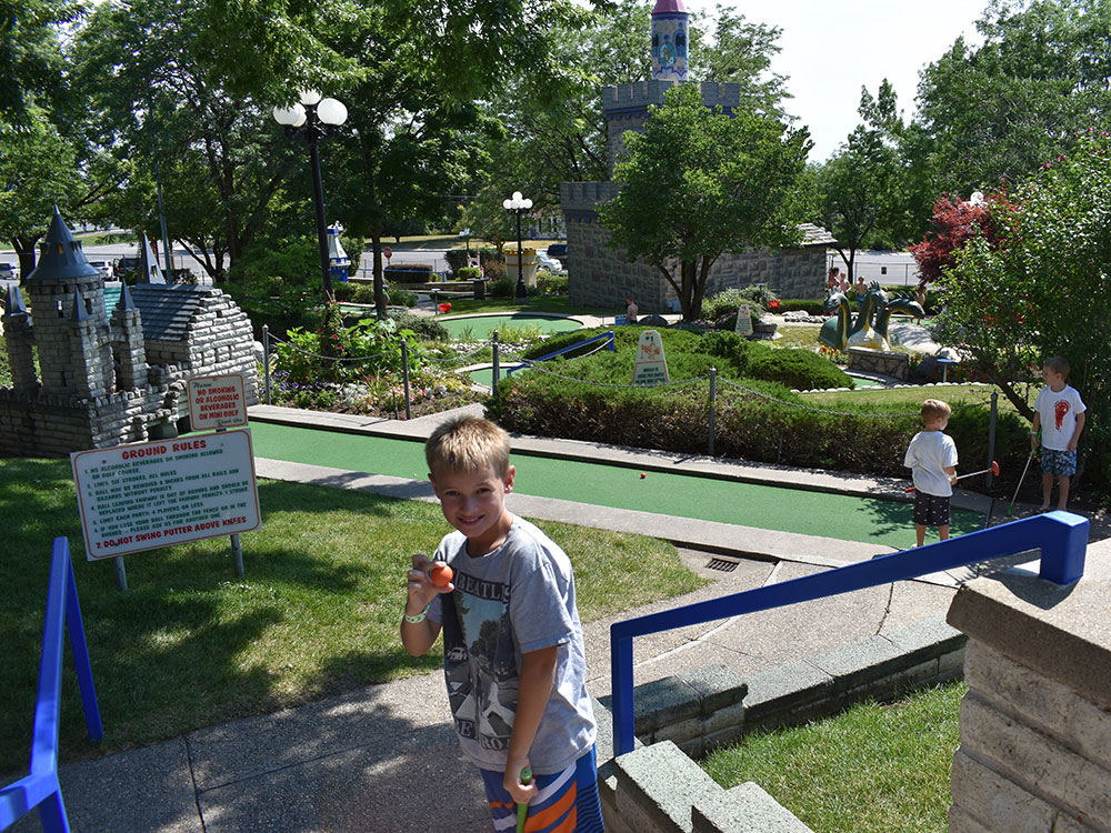 Miniature Golf at Cherry Hill Water Park, Family Fun Center & Camping Resort