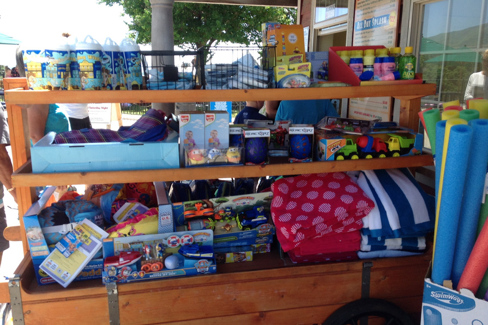 Gift Carts | Cherry Hill Water Park