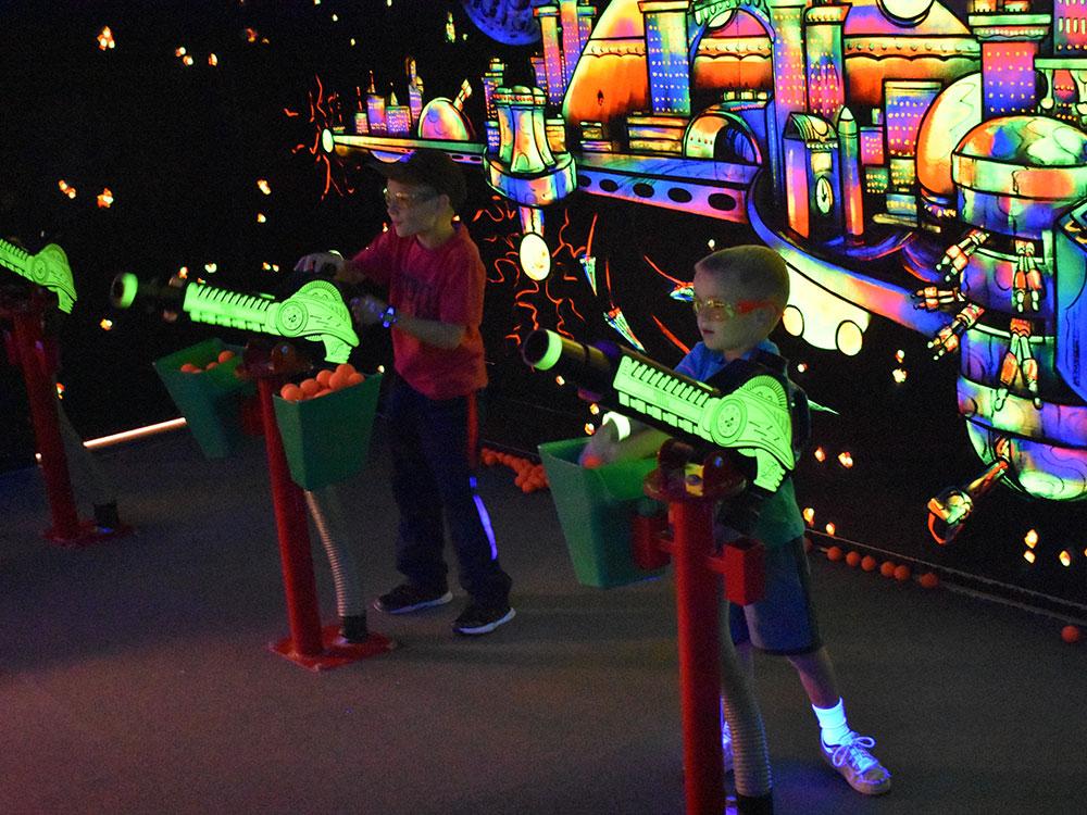 Battlestar Blasters at Cherry Hill Water Park, Family Fun Center & Camping Resort