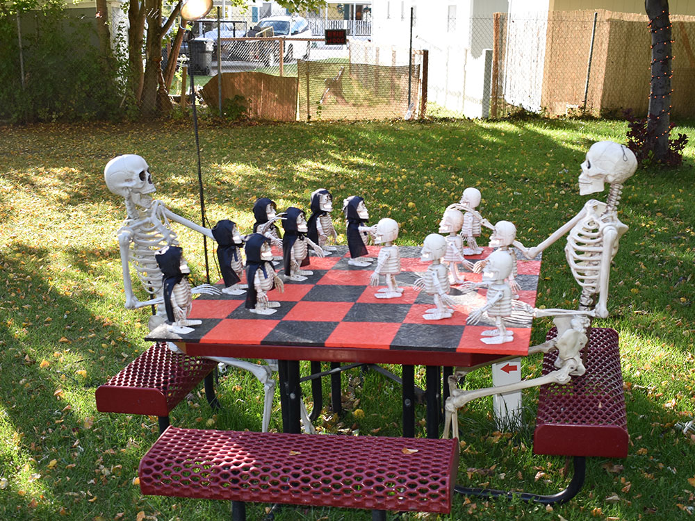 Scary Hill Chess Game at Cherry Hill Water Park, Family Fun Center & Camping Resort