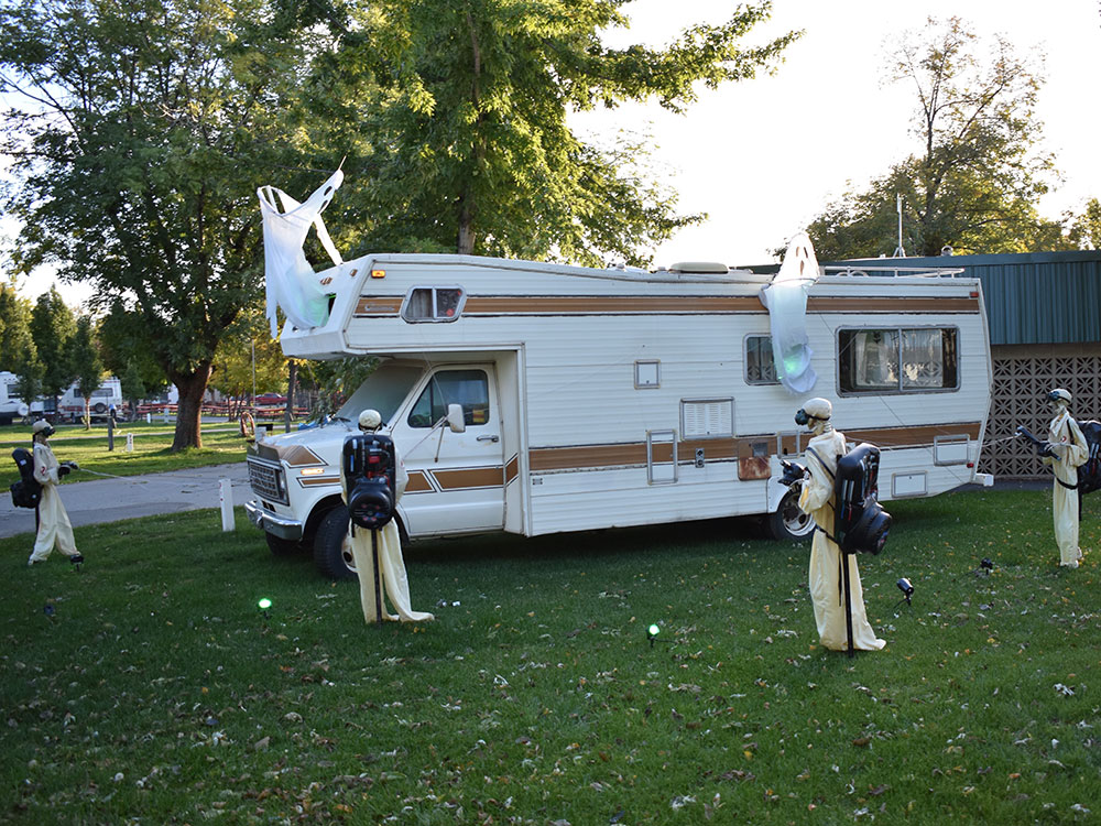 Scary Hill RV at Cherry Hill Water Park, Family Fun Center & Camping Resort