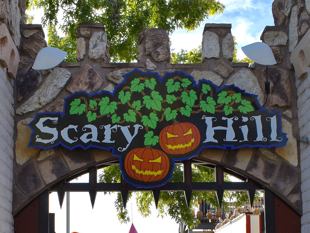 Scary Hill at Cherry Hill Water Park, Family Fun Center & Camping Resort