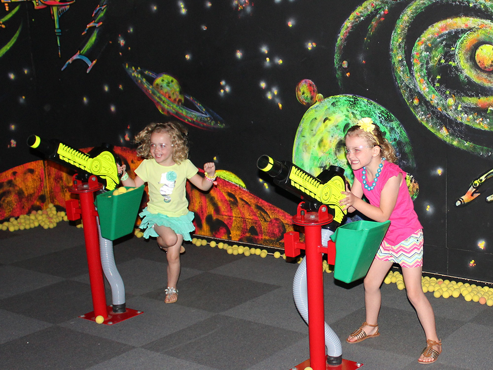 Battlestar Blaster at Cherry Hill Water Park, Family Fun Center & Camping Resort