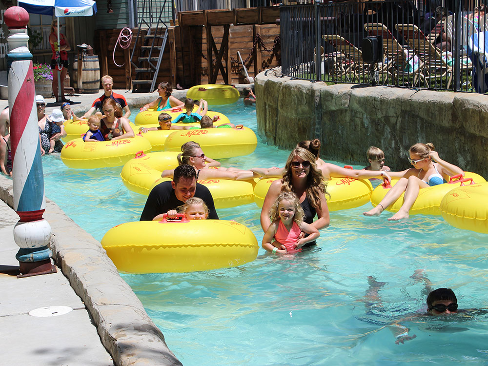 Grant's Gulch Lazy River | Cherry Hill Water Park