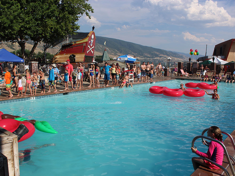 Pirate Cove Pool at Cherry Hill Water Park, Family Fun Center & Camping Resort
