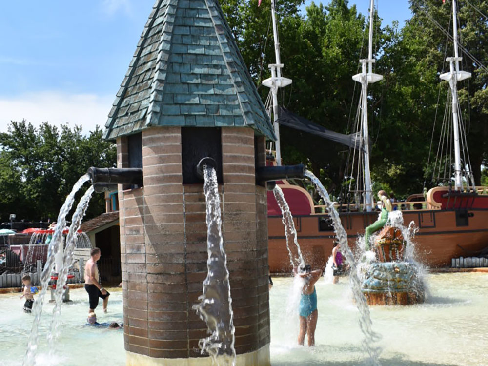 Pirate Cove at Cherry Hill Water Park, Family Fun Center & Camping Resort