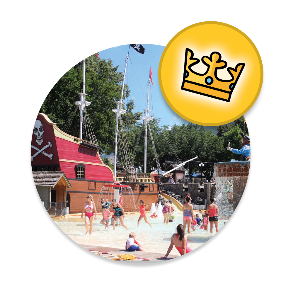 King of the Hill Pass at Cherry Hill Water Park, Family Fun Center & Camping Resort