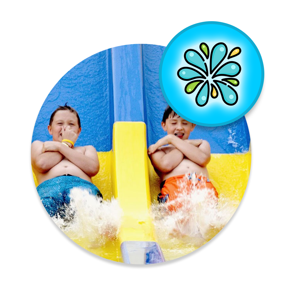 Splash Hill Pass at Cherry Hill Water Park, Family Fun Center & Camping Resort