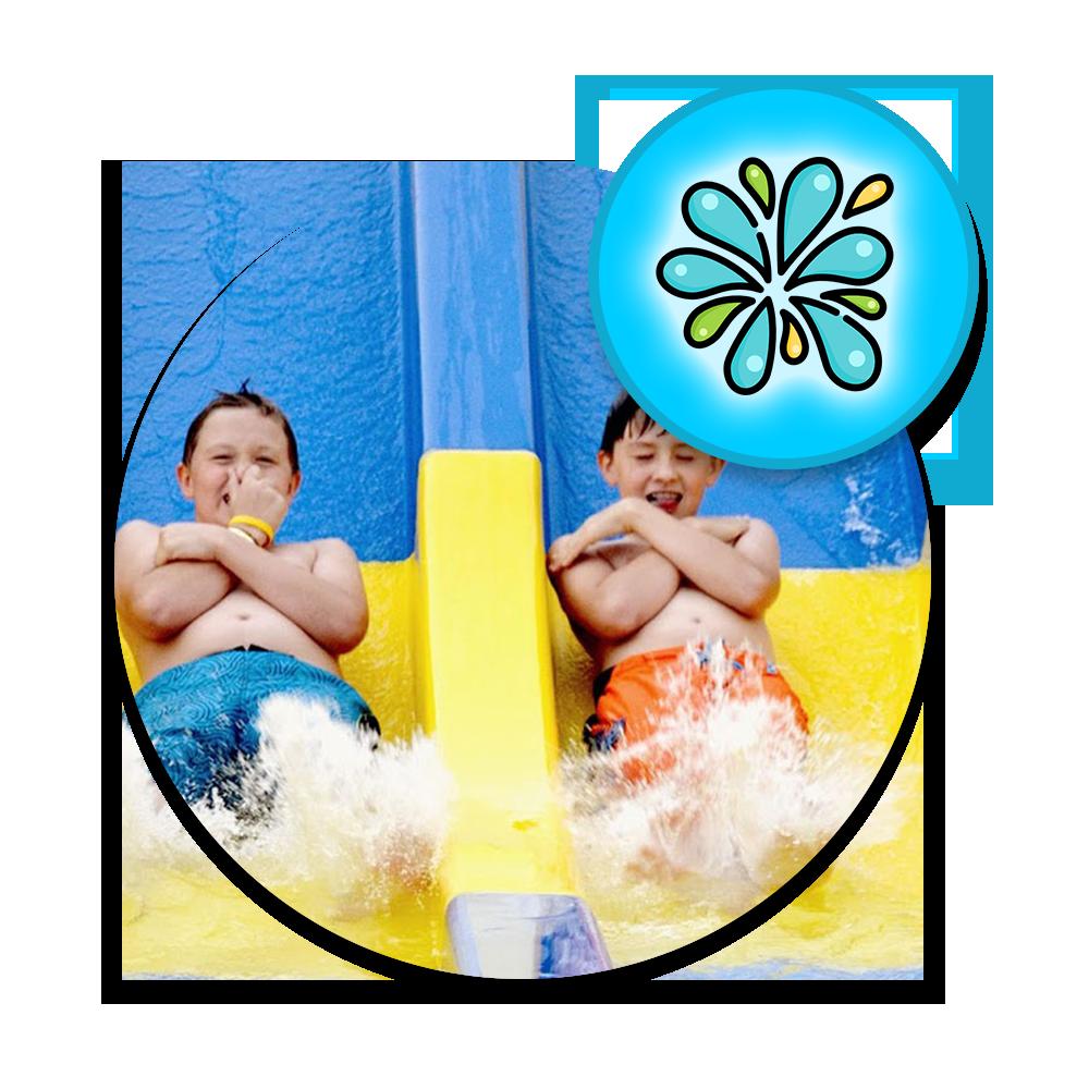 Splash Hill Pass at Cherry Hill Water Park, Family Fun Center & Camping Resort